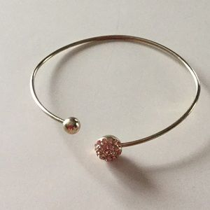 Jewelry - 🌠 FREE w/purchase Bangle w/Rhinestones